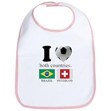 BRAZIL-SWITZERLAND Bib