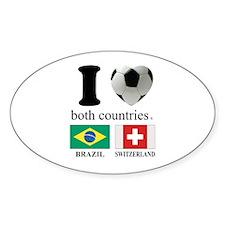 BRAZIL-SWITZERLAND Decal