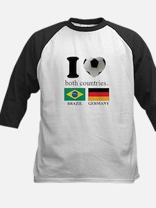 BRAZIL-GERMANY Kids Baseball Jersey