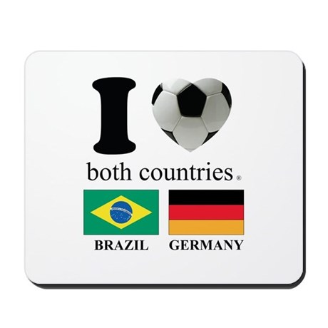 BRAZIL-GERMANY Mousepad