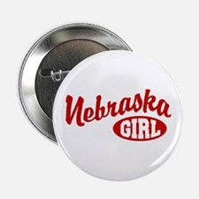 Nebraska Girl Button