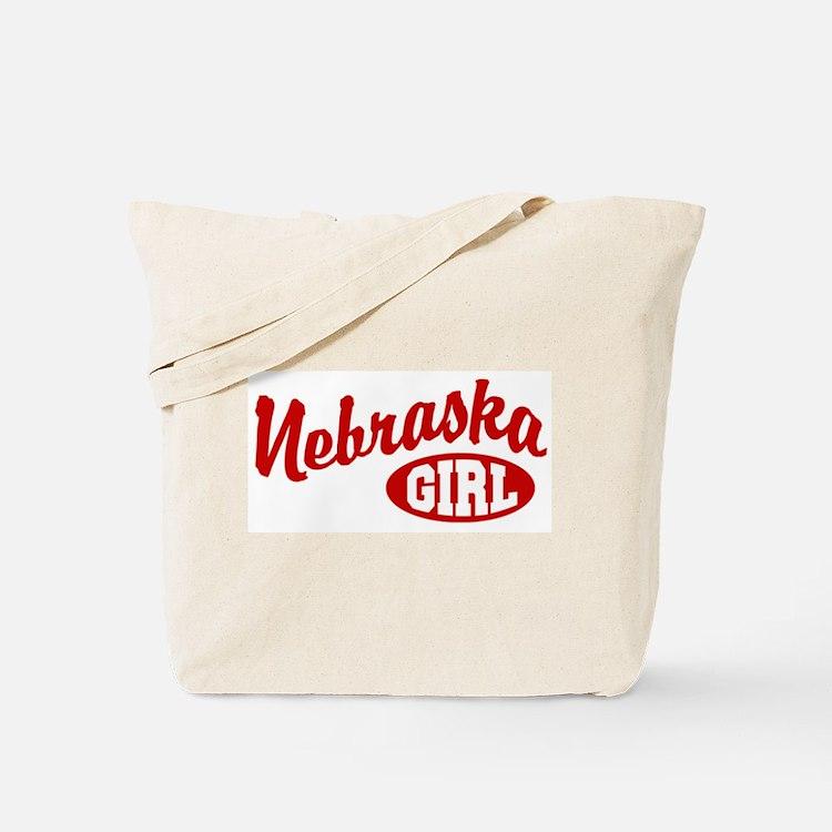 Nebraska Girl Tote Bag