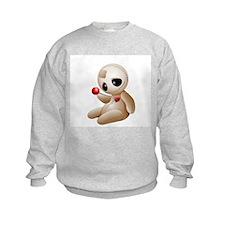 Voodoo Doll Cartoon in Love Sweatshirt