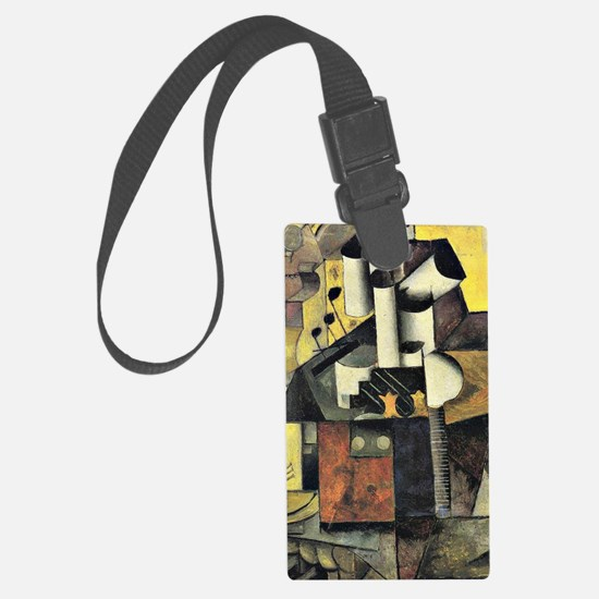 Kazimir Malevich - Musical Instr Large Luggage Tag