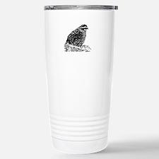 Bobwhite Quail (line art) Travel Mug