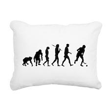 Evolution Field Hockey Rectangular Canvas Pillow