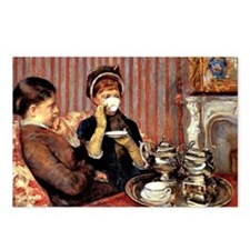 The Tea, 1880 painting by Postcards (Package of 8)