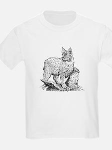 Bobcat (line art) T-Shirt