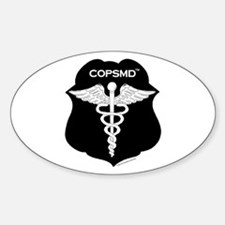 COPSMD Oval Decal