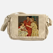 Mary Cassatt - Mother and Sara Admir Messenger Bag