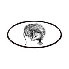 Opossum (line art) Patches