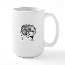 Opossum (line art) Mugs