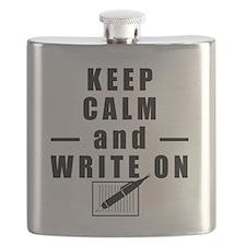 Keep Calm and Write On Flask
