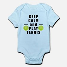 Keep Calm and Play Tennis Body Suit
