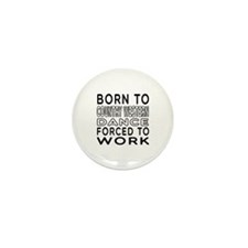 Born To Country Western Dance Mini Button (10 pack