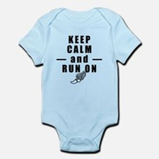 Keep Calm and Run On Body Suit