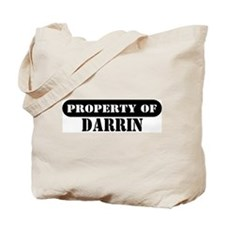 Property of Darrin Tote Bag