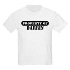 Property of Darrin Kids T-Shirt