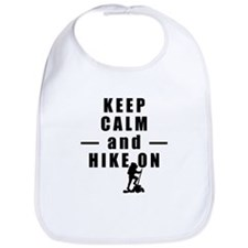 Keep Calm and Hike On Bib