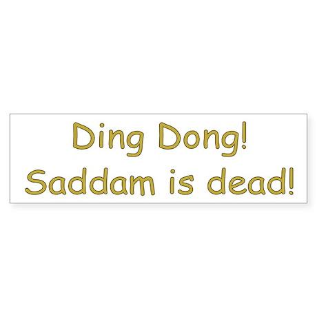 DDSD Bumper Sticker