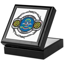 North Dakota Darts Keepsake Box