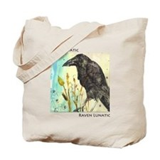 Raven Lunatic Tote Bag