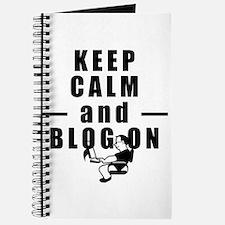 Keep Calm and Blog On Journal