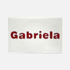 Gabriela Santa Fur Rectangle Magnet