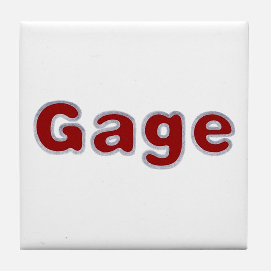 Gage Santa Fur Tile Coaster