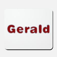 Gerald Santa Fur Mousepad