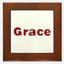 Grace Santa Fur Framed Tile