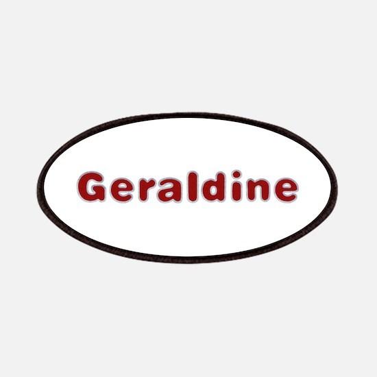 Geraldine Santa Fur Patch