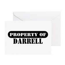 Property of Darrell Greeting Cards (Pk of 10)