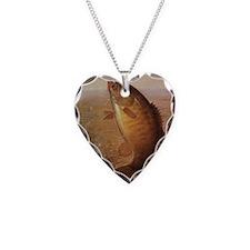 Vintage Largemouth Brown Bass Necklace