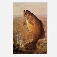 Vintage Largemouth Brown  Postcards (Package of 8)