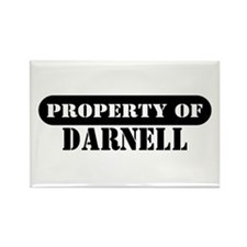Property of Darnell Rectangle Magnet