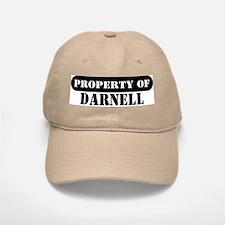 Property of Darnell Baseball Baseball Cap