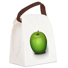 Granny Smith Apple Canvas Lunch Bag