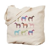 Horse Canvas Totes