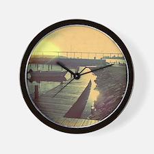 Shiny Bridge Wall Clock