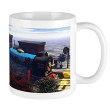 3 Railway Engines Mugs