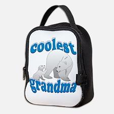 Coolest Grandma Neoprene Lunch Bag