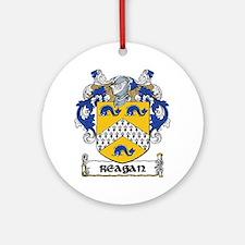 Reagan Coat of Arms Ornament (Round)