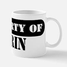 Property of Darin Mug