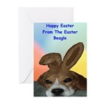 The Easter Beagle Greeting Cards (Pk of 10)