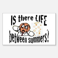 Life Between Summers Male Decal