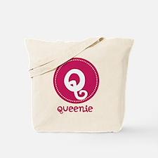 Personalized Name Monogram Tote Bag