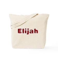 Elijah Santa Fur Tote Bag