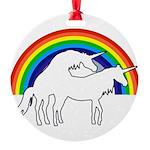 Humping Unicorns Ornament