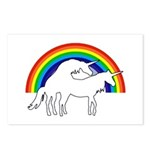 Humping Unicorns Postcards (Package of 8)